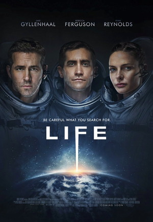 life 2017 movie film poster one sheet
