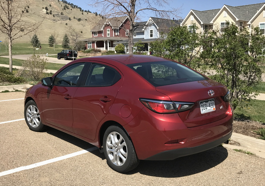 2017 toyota yaris ia - rear exterior