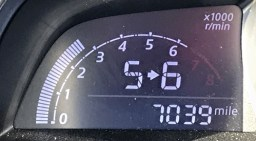 toyota yaris ia - shift indicator 5 > 6