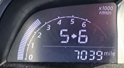 toyota yaris ia - shift indicator 5 > 6