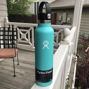 our aqua hydro flask