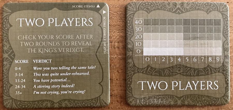shahrazad two player scoring tile
