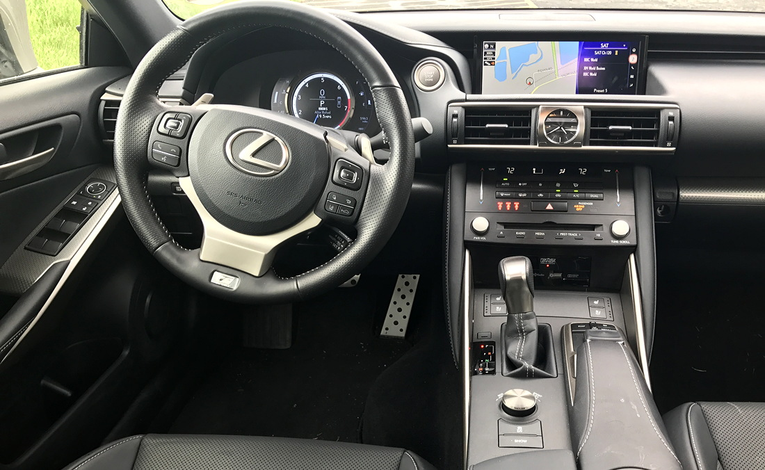 2017 lexus is350 dashboard front interior