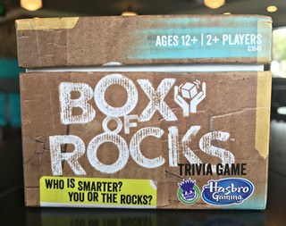 box of rocks trivia game hasbro review