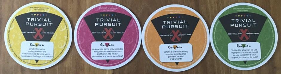 trivial pursuit coasters hasbro