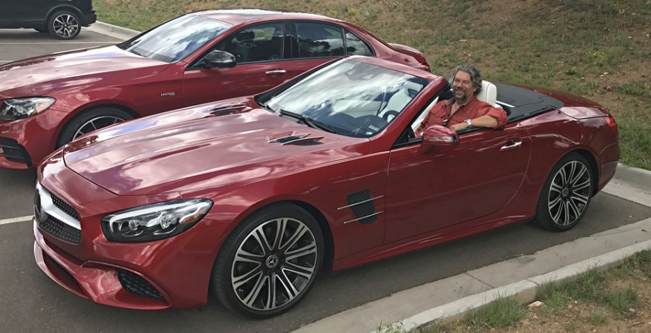 dave taylor in mercedes sl450