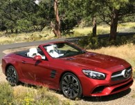 rmde 2017 - mercedes sl450 convertible