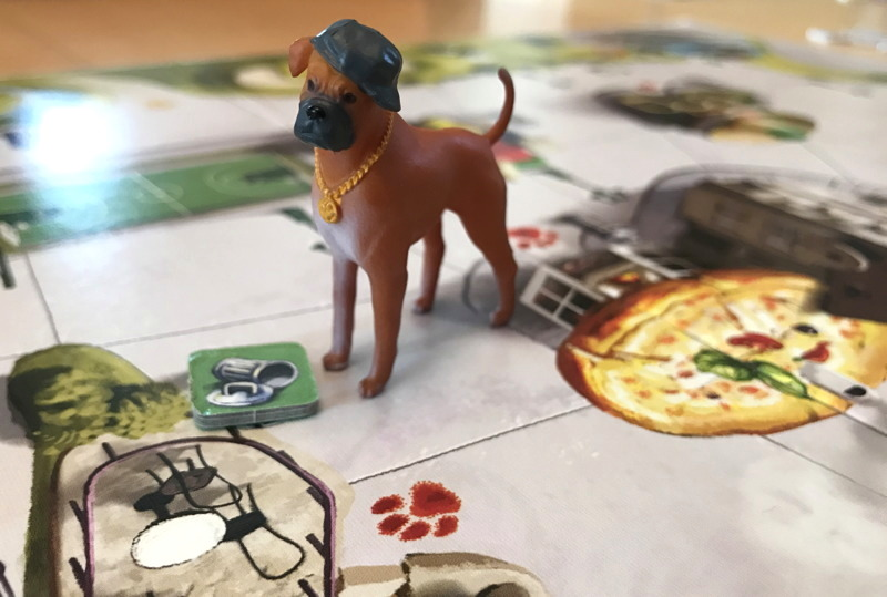 romeo miniature from a dog's life board game