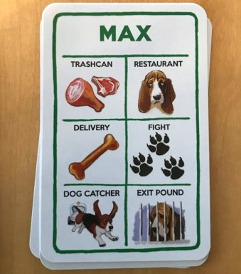 a dog's life game max action card