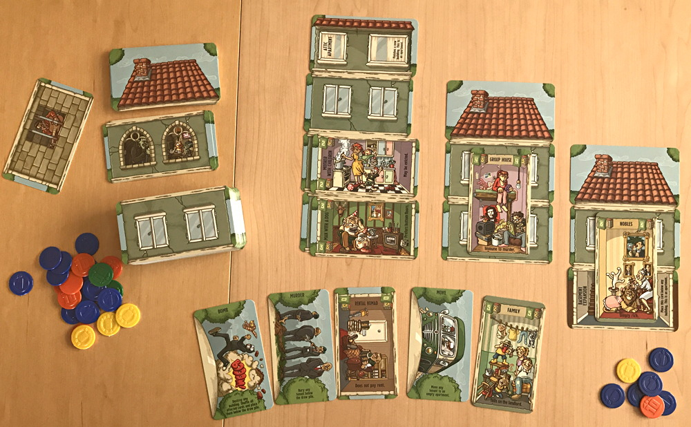 freise's landlord - card game