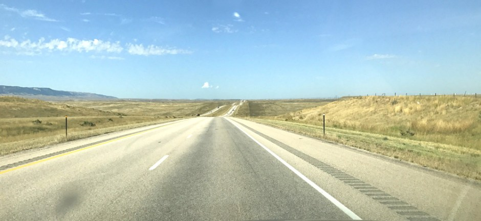 the long road, wyoming