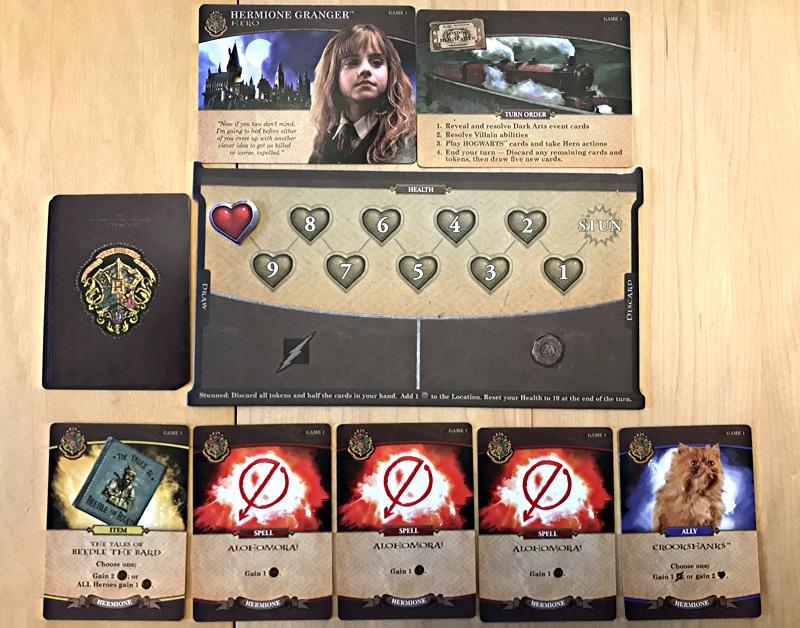 hermione granger setup, harry potter hogwarts battle