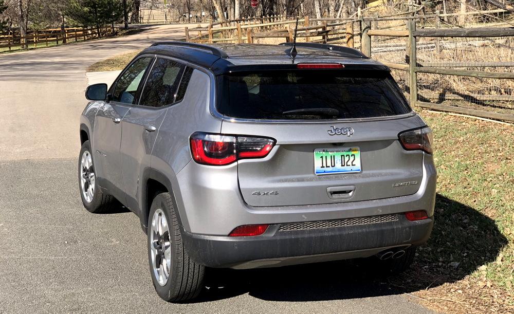 2018 jeep compass ltd rear