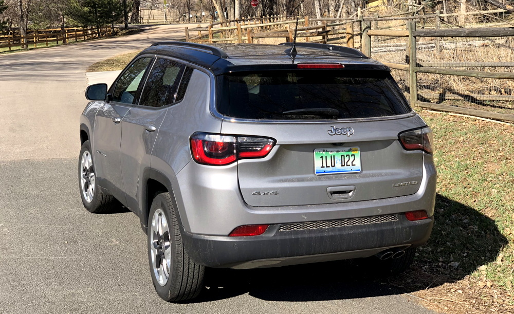 the 2018 jeep compass limited a surprisingly comfortable. Black Bedroom Furniture Sets. Home Design Ideas