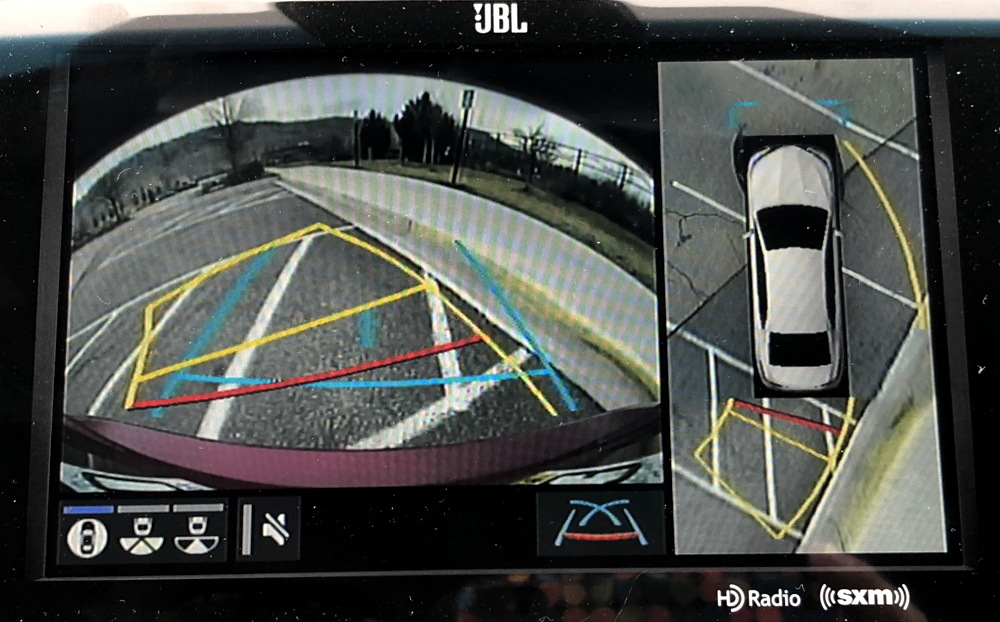 backup cameras, toyota camry xse
