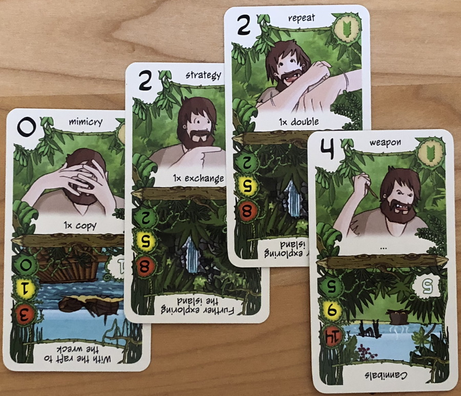 robinson cards, friday card deck game