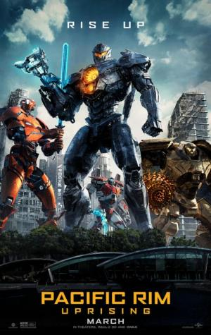 pacific rim uprising movie poster one sheet