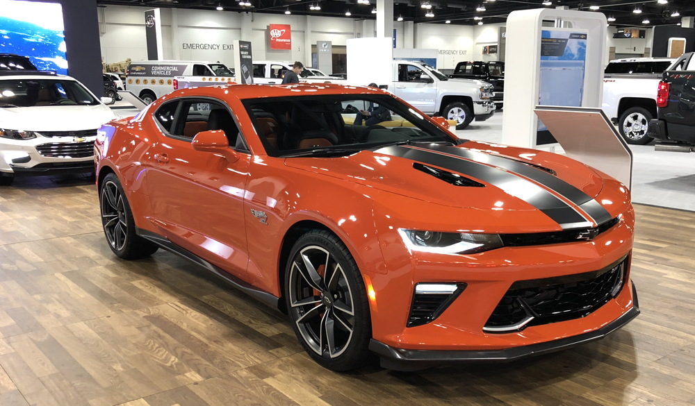 2018 chevy camaro hot wheels edition