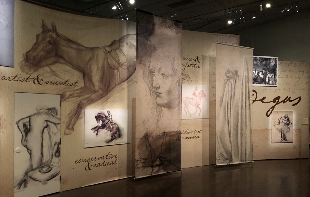 denver art museum degas exhibit opening area