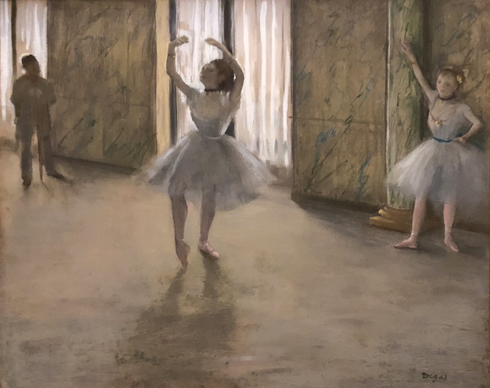 degas the dancing lesson