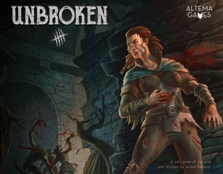 unbroken solo dungeon crawler game review