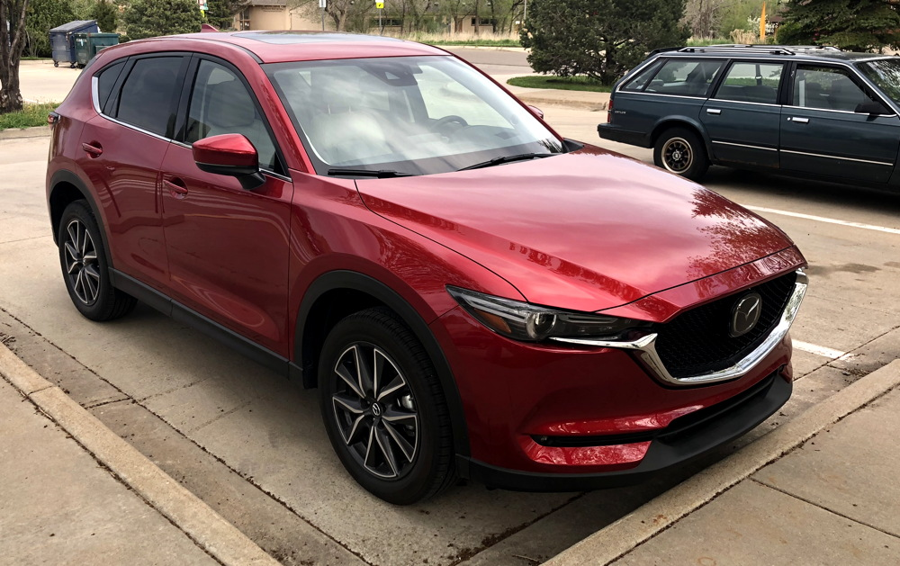 2018 mazda cx-5 awd red exterior