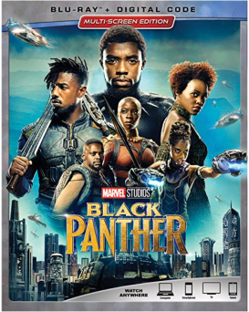 black panther blu-ray release packaging