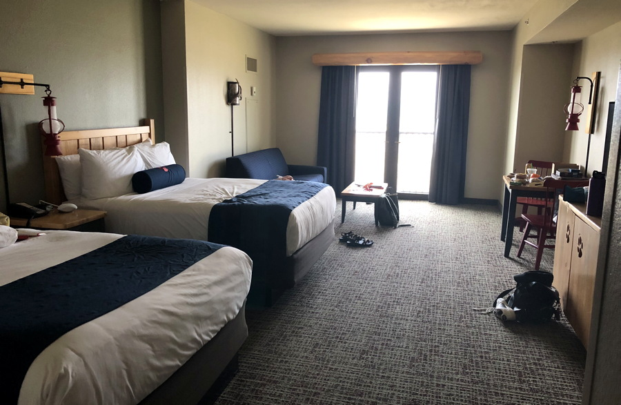 great wolf lodge hotel room