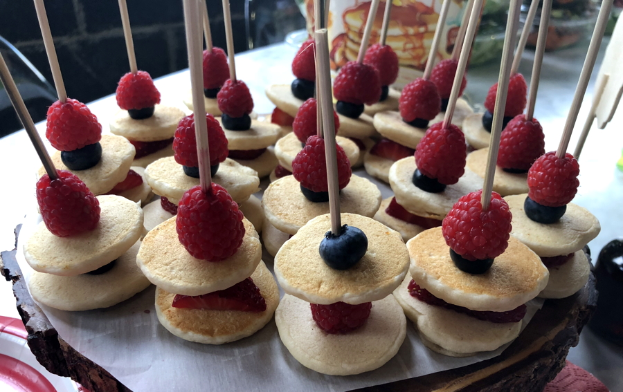 pancake kabobs from birch benders