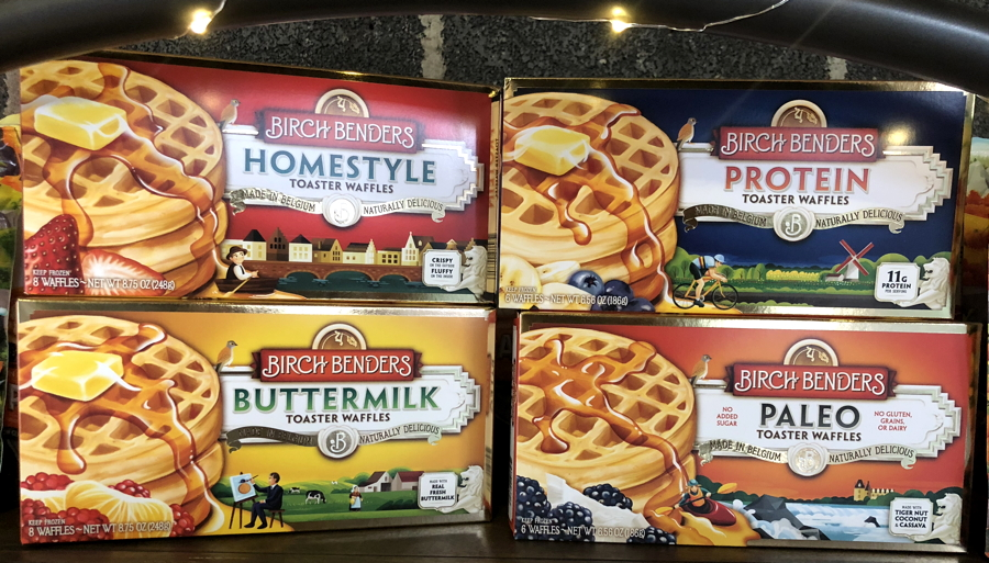 birch benders frozen waffles