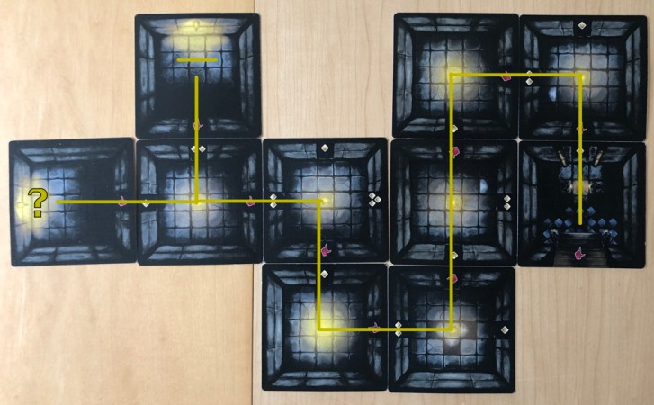 the abandons, 7 cards in
