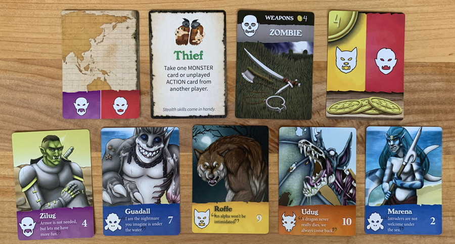 goventure monsters card game