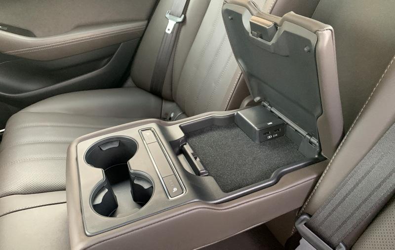 back seat armrest - 2018 mazda6 signature