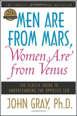 men are from mars - women are from venus - john gray - book cover