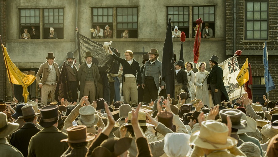 peterloo production still