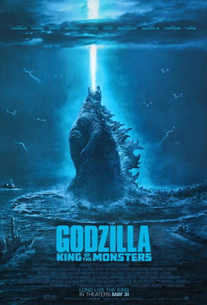 godzilla king of the monsters - movie poster one sheet 2019