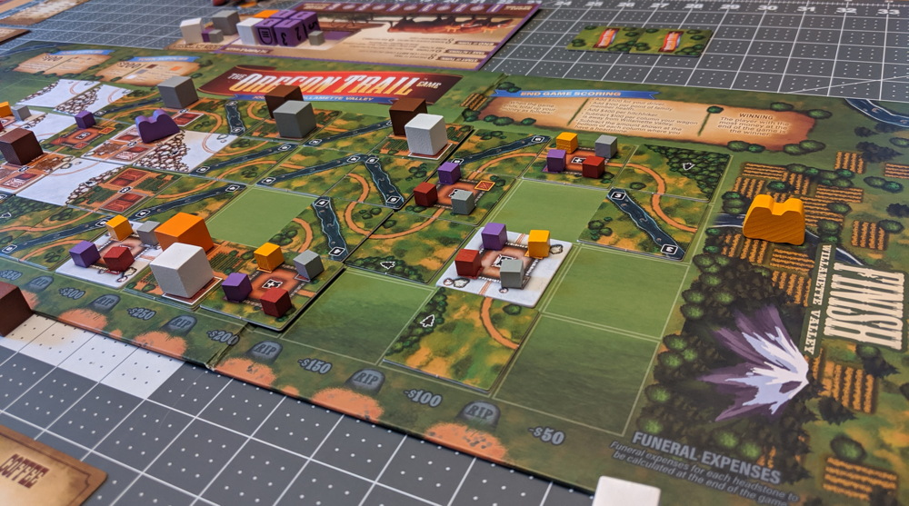oregon trail endgame board game willamette valley