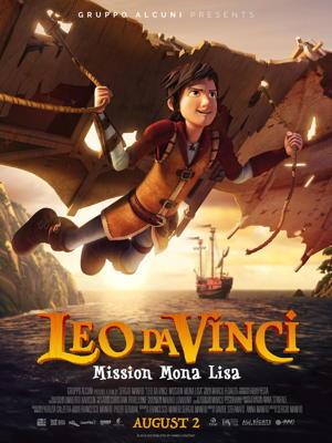 leo da vinci - mission mona lisa - movie poster one sheet