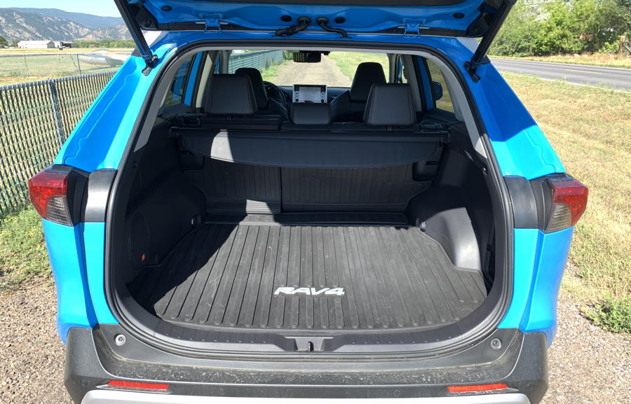2019 toyota rav4 adventure awd trunk rear hatch