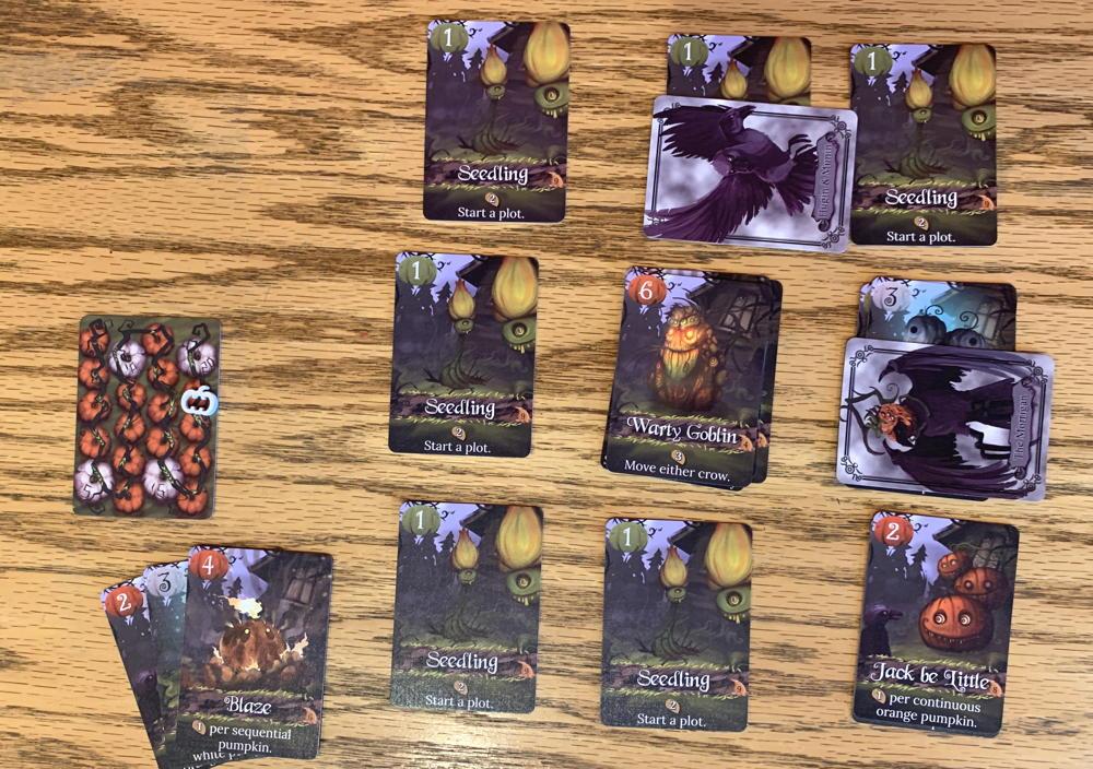 pumpkin patch bad seeds - card to play next?