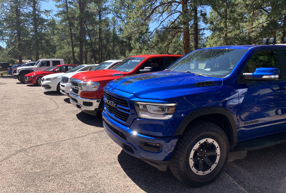 rmde 2019 rmap car truck lineup parked