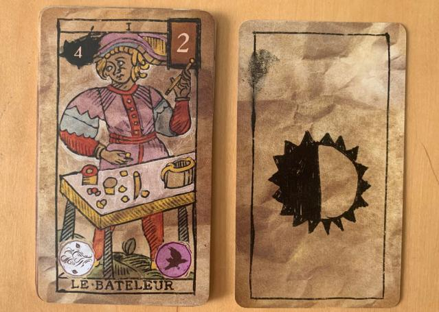 strange & norrell game - card of marseille