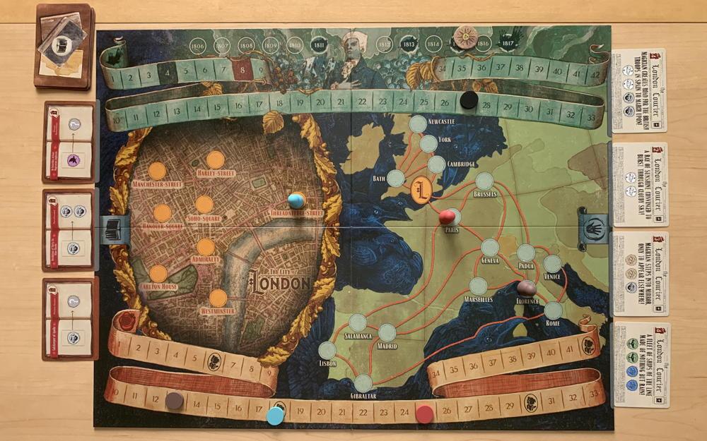 jonathan strange & mr norrell board game