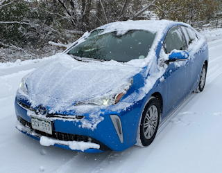 2019 toyota prius xle awd review test drive behind the wheel experiences
