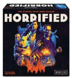 horrified board game - box