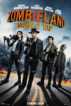 zombieland double tap movie poster one sheet