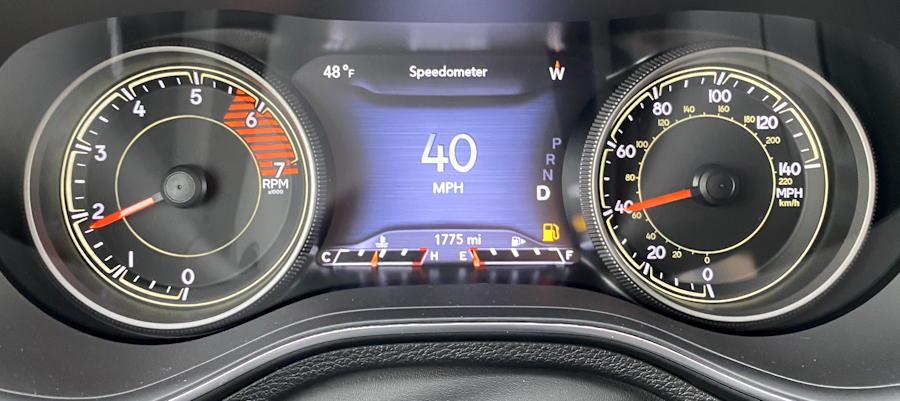 2020 jeep cherokee trailhawk elite main center gauges