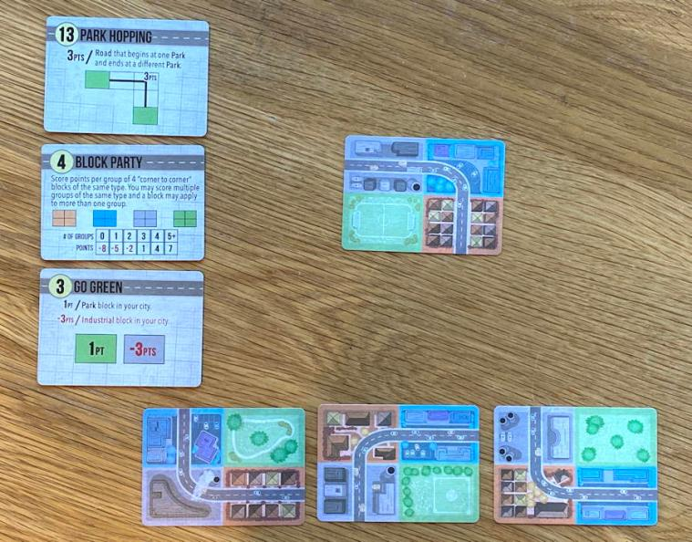 button shy sprawlopolis game review - starting setup