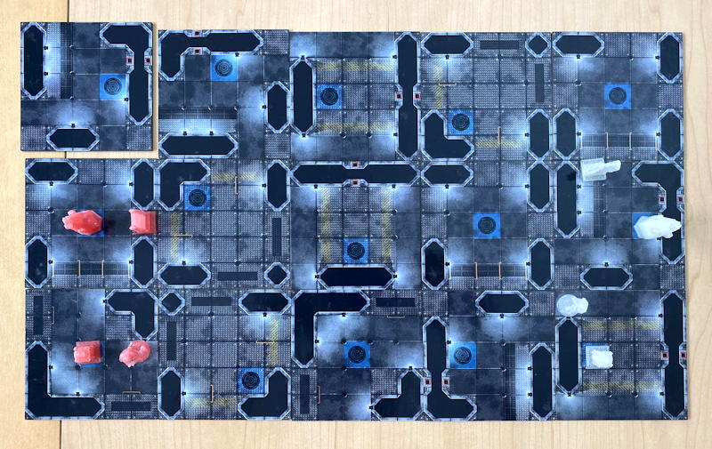 tactical tech - board starting layout - game