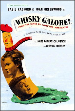 whisky galore! 1949 film movie poster one sheet